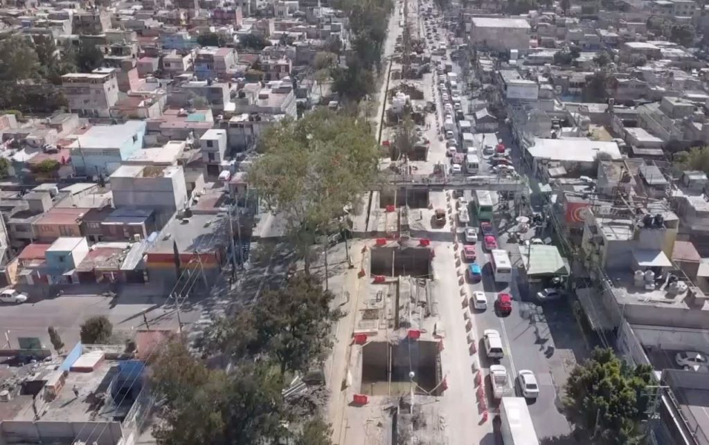 Stavba v říjnu 2020. (foto: Gobierno de la CDMX)