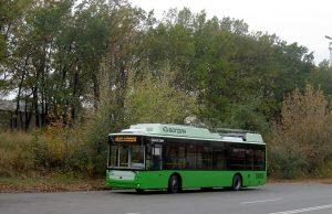 Charkov převzal první ze 49 trolejbusů Bogdan financovaných úvěrem EIB