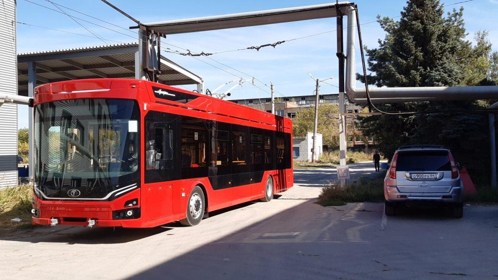 "Trolejbus v Ivanovu. (foto: PK ""TS"")"