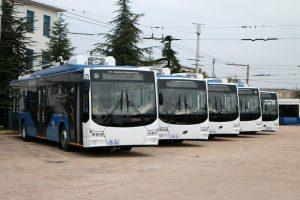 Sevastopolský trolejbusový park kompletně obnoven