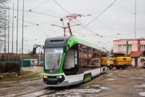 V Kaliningradu byla prezentována tramvaj Korsar