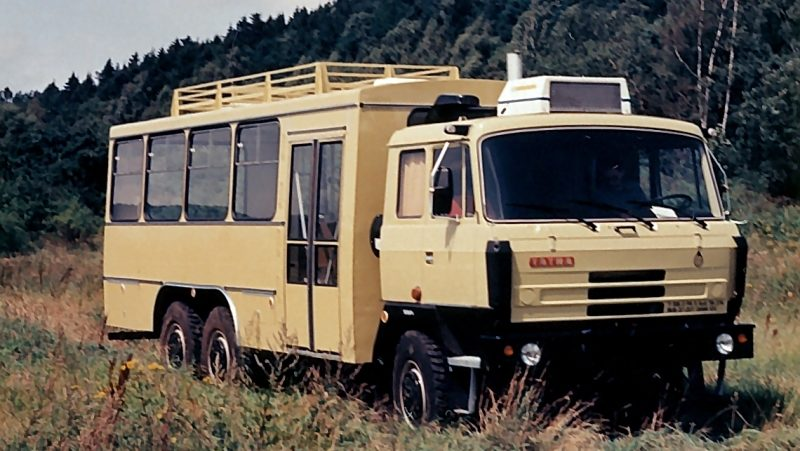 """Jak Tatrabus """"14 Tr"""" vznikl už víme, stále však neznáme osud vozidla, a tak naše výzva k čtenářům ve věci pátrání po vozidle vlastně pokračuje. (sbírka: Jan Neumann)"""