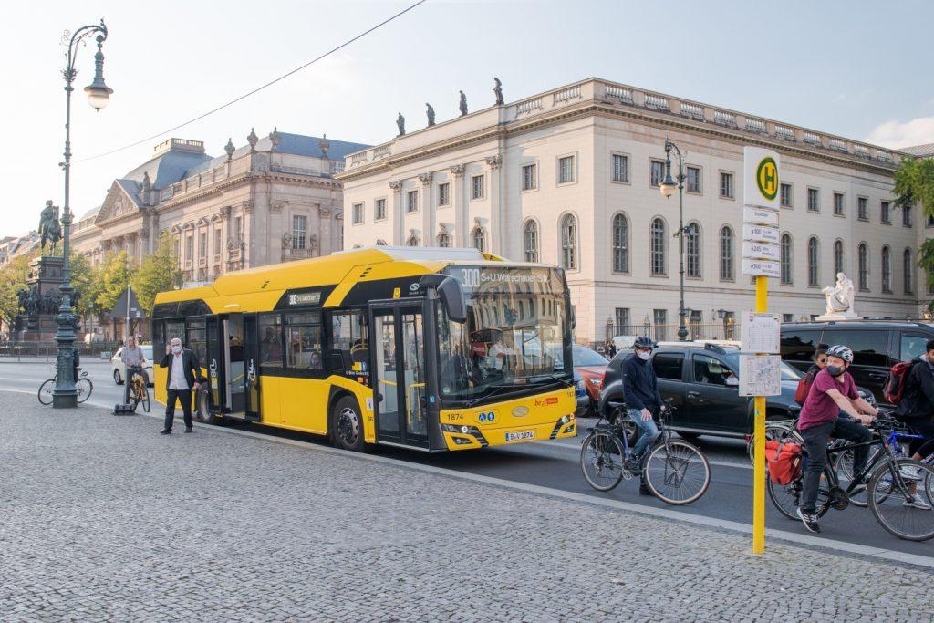 Celkem je v Berlíně již 123 elektrobusů nesoucích značku polského výrobce. (foto: Solaris Bus & Coach)