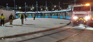 Tramvajový provoz v Mostaganemu před otevřením