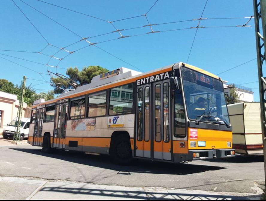 Trolejbus v Sanremu. (foto: riviera24.it)
