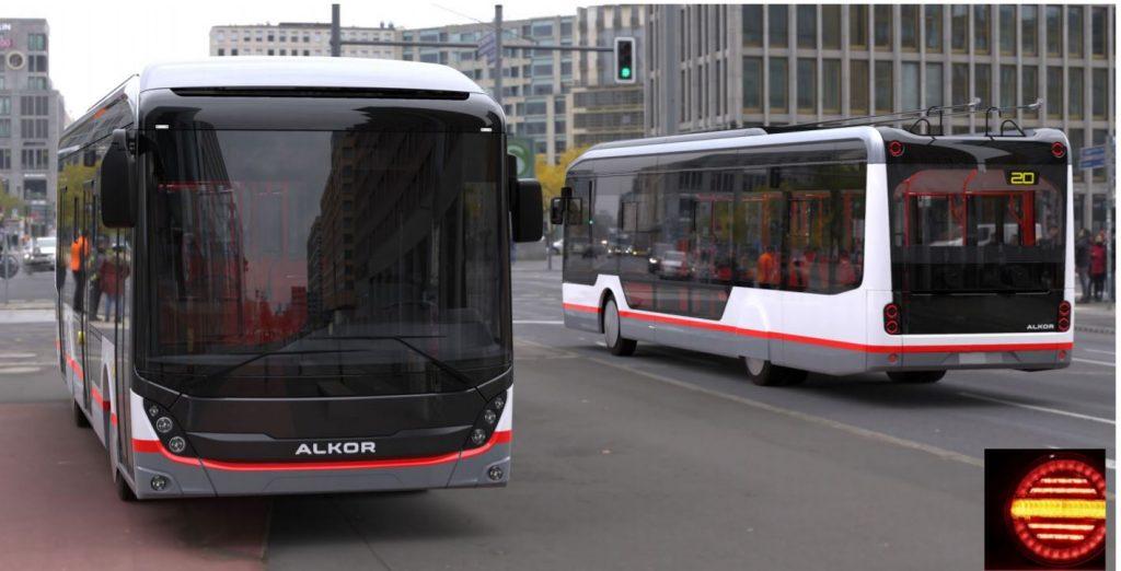 """""""Usměvavý trolejbus s jediným panoramatickým čelním sklem…,"""" píše budoucí dodavatel trolejbusových stavebnic pro Krasnodar. (autor: Al'kor)"""