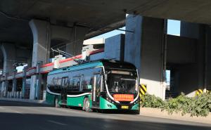 Trolejbusy se vrátily do Čeng-čou