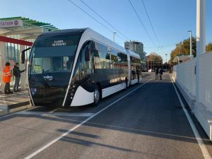 Schváleno: Trolejbusy mají být prodlouženy z Riccione dále do Cattolicy. Bez účasti Riccione