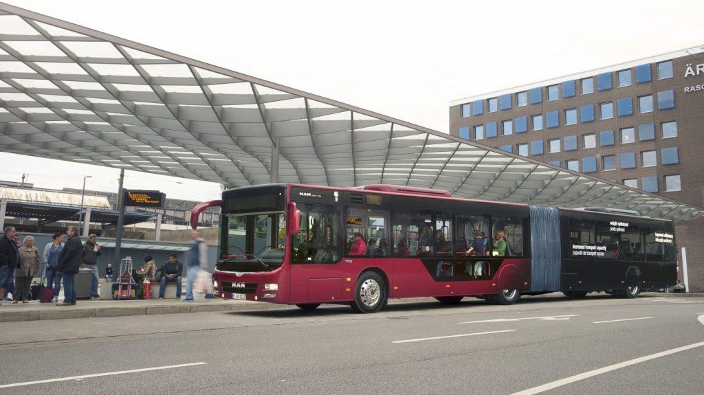 Ačkoli je na trhu dostupná již nová verze MANu Lion's City, do Maďarska poputuje více než 200 zástupců starší verze. foto: MAN Truck & Bus)