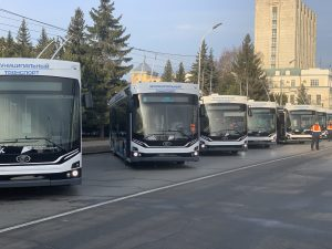 Omsk zakoupil dalších 29 trolejbusů