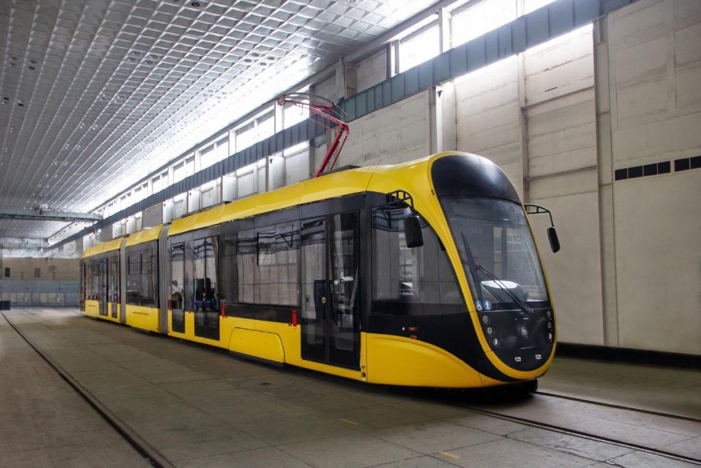Nová tramvaj se rodila v Dnipru. (foto: Tatra-Jug)