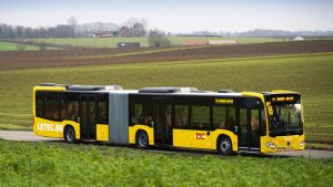 Mercedes dodává 129 vozů Citaro G hybrid do Belgie