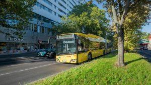 Solaris dodal první elektrobusy do Bonnu