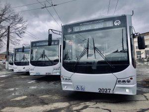 Krasnojarsk pořizuje 24 nových parciálních trolejbusů, vrací trolejbusovou dopravu na pravý břeh
