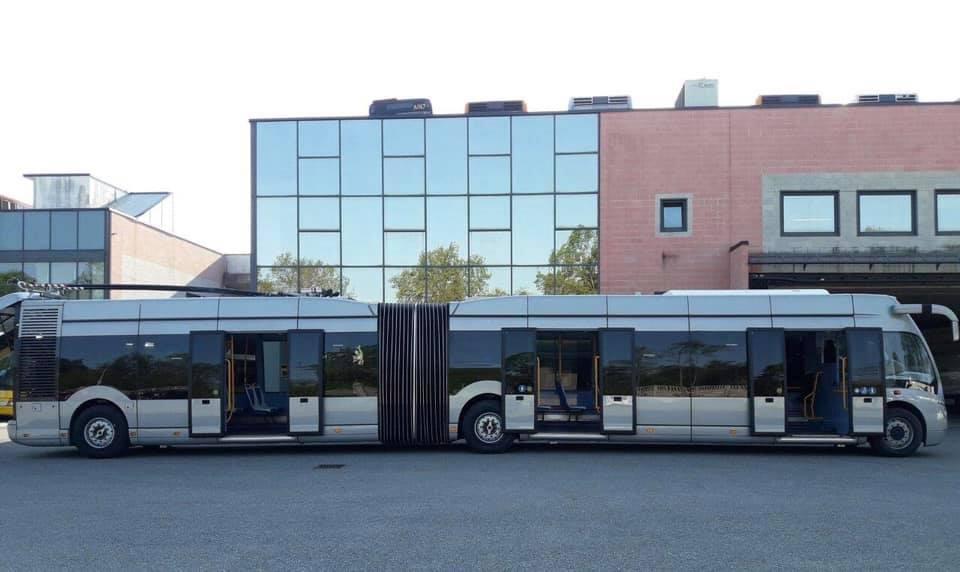 Fotografie trolejbusu. (foto: Basco Bus)