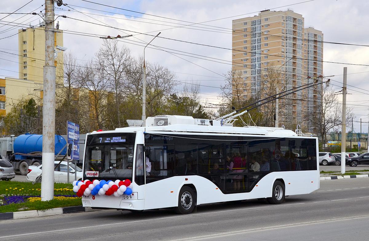 Novorossijsk otevřel novou trolejbusovou trať