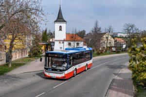 Trikolorní turecké midibusy BMC pro ABOUT ME