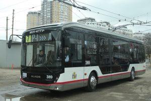 Krasnodar dokončil montáž nového trolejbusu