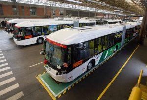 V São Paulu možná vznikne další trolejbusový koridor