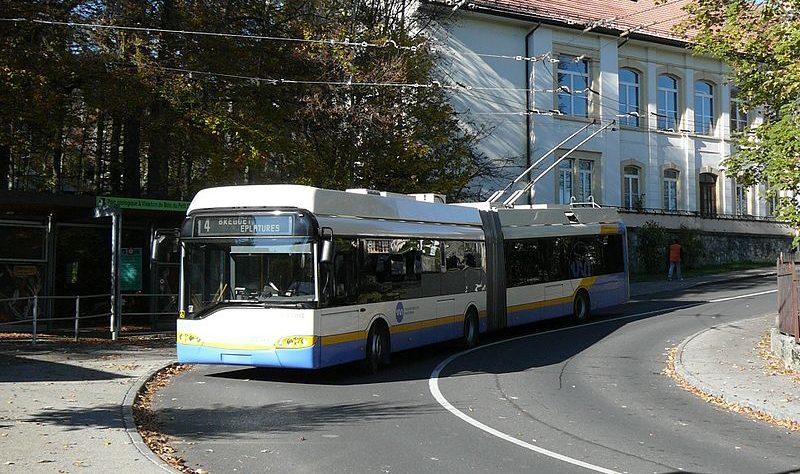 Trolejbusy se vrátí do La Chaux-de-Fonds
