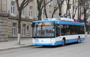 V Bělcích začaly jezdit parciální trolejbusy