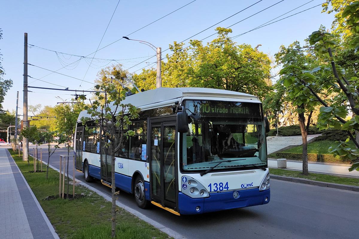 Kišiněv pokračuje v rozšiřování trolejbusové dopravy