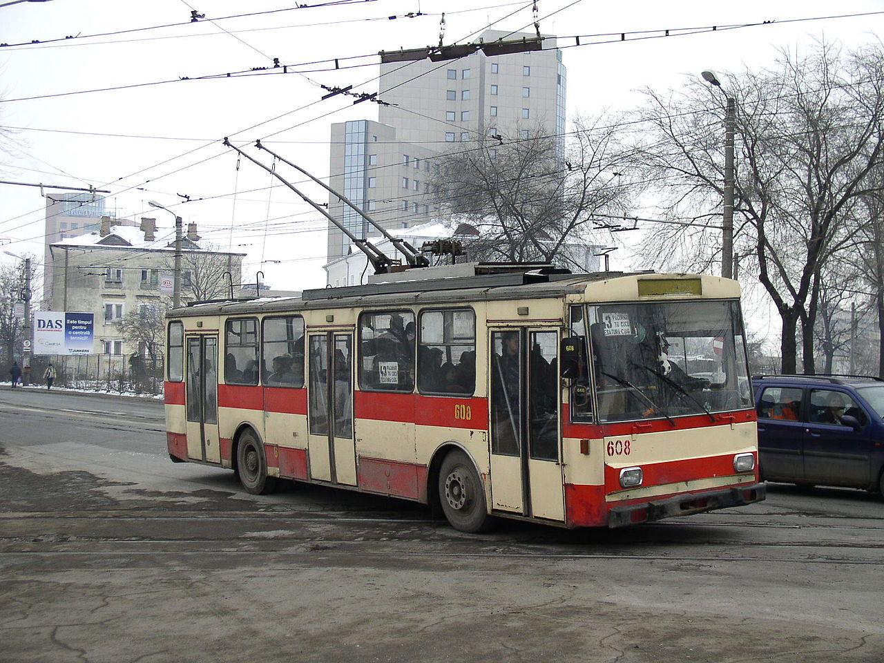 """Ex-brněnská """"čtrnáctka"""" na snímku z ledna 2006. (foto: Tiberiu Sufitchi)"""
