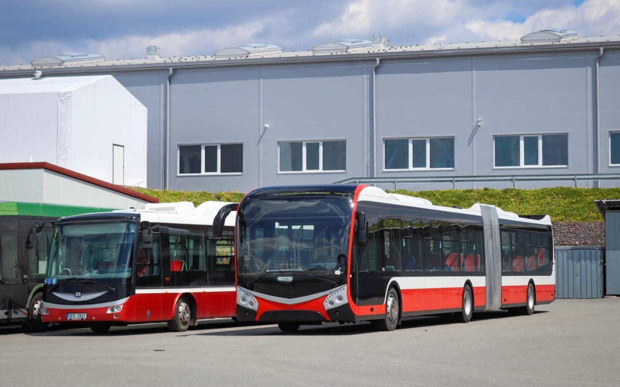 SOR NS 18 diesel pro pražský DP