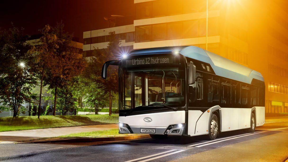 Solaris dodá vodíkové autobusy do Frankfurtu