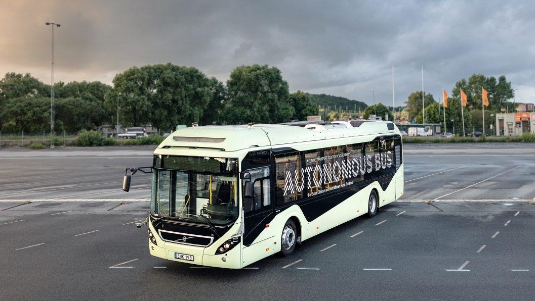 Volvo 7900 Electric na propagačním snímku výrobce. (foto: Volvo Buses)