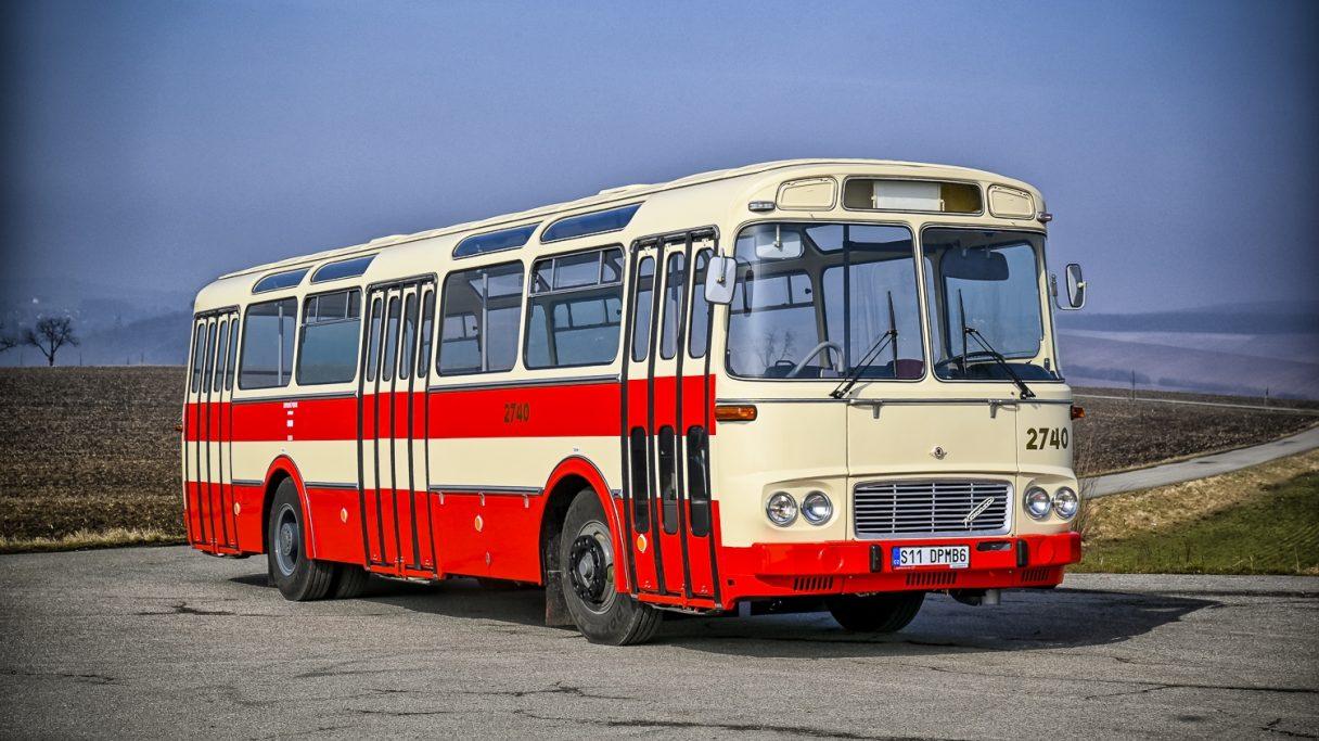 Brno má retro autobus Karosa ŠM 11