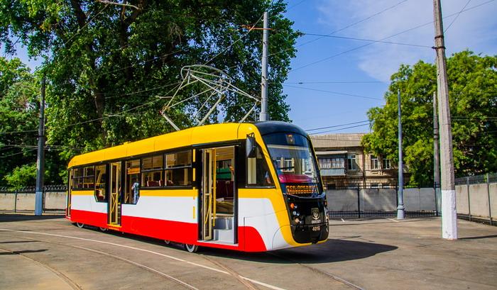 Oděsa už podruhé hledá výrobce článkových tramvají