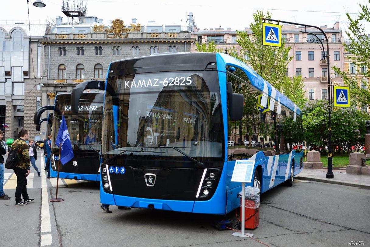 KAMAZ zahájí sériovou výrobu trolejbusů