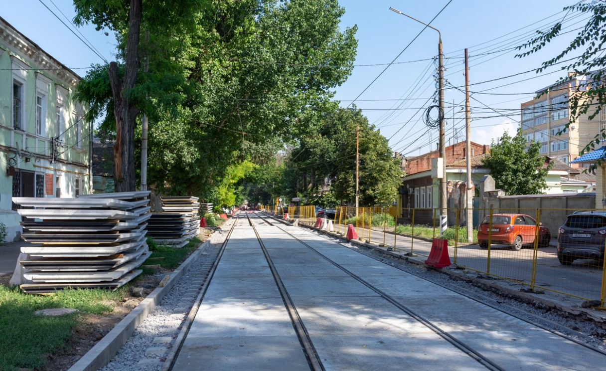 Taganrog spustil plošnou modernizaci tramvajové dopravy