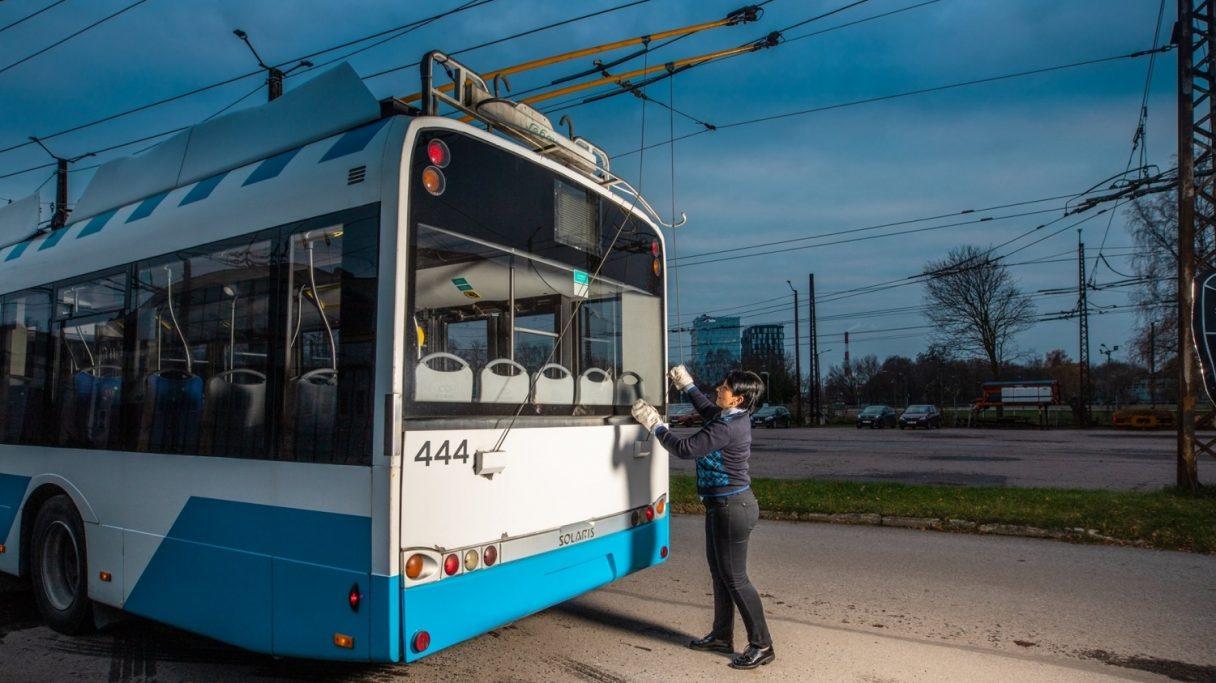 Potvrzeno: Tallinn vsadí na parciální trolejbusy