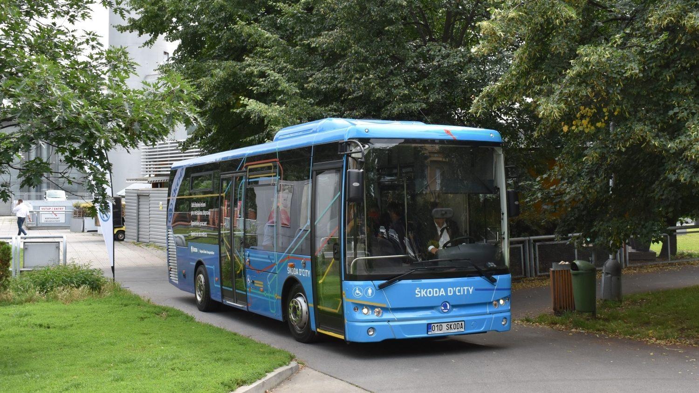Dieselový autobus Škoda D'City 9 LE vznikl jednoduchou adaptací autobusu Temsa MD9 LE. (foto: Libor Hinčica)