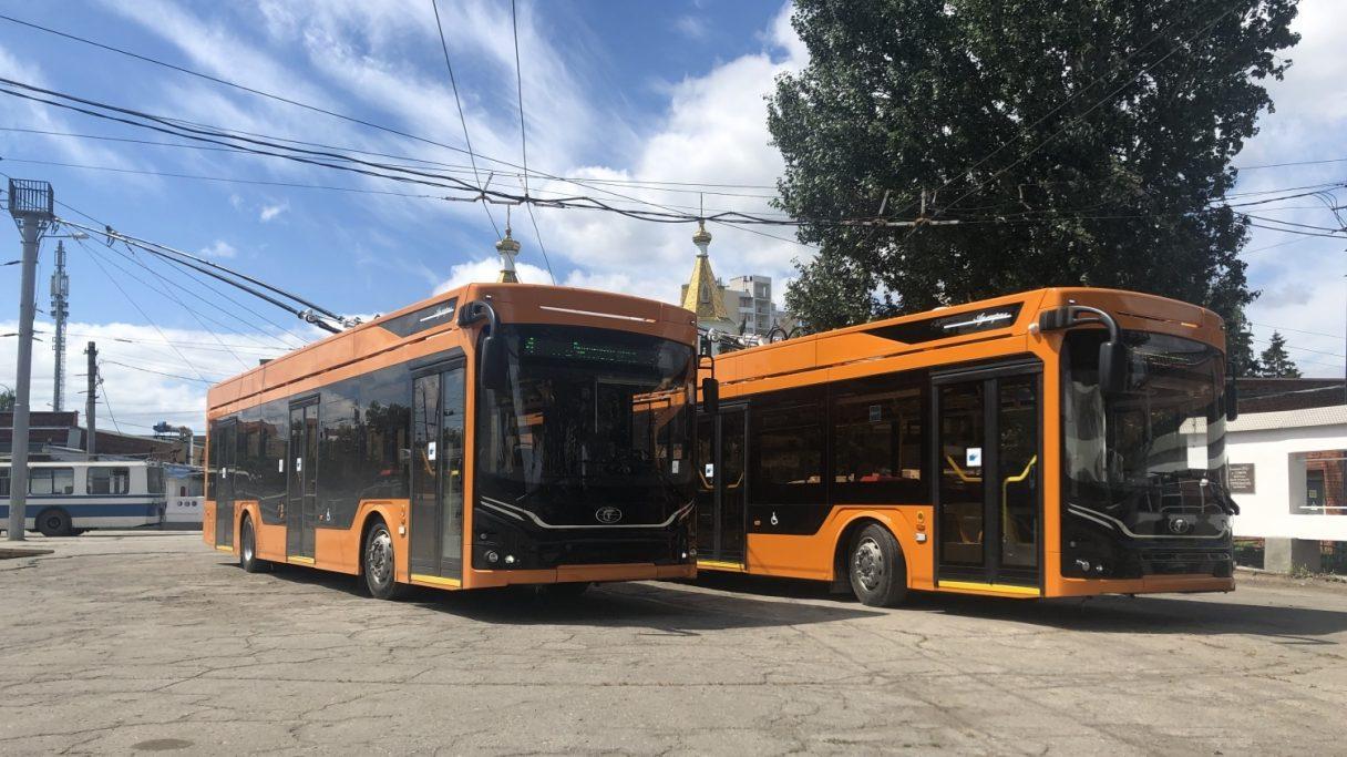 Skončila dodávka 22 trolejbusů pro Samaru