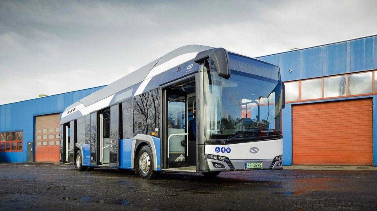 První vodíkový autobus pro polského dopravce