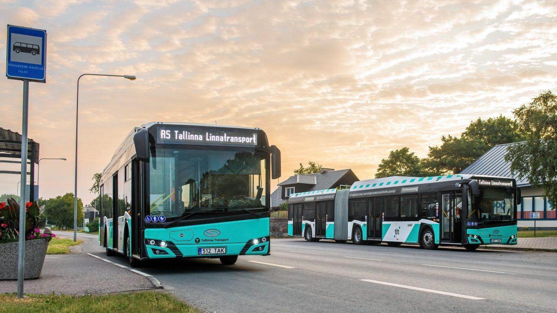 Solaris do Tallinnu dodal již 200 svých autobusů na CNG. Nyní podepsal další velkou zakázku na až 150 vozů. (foto: Solaris Bus & Coach)