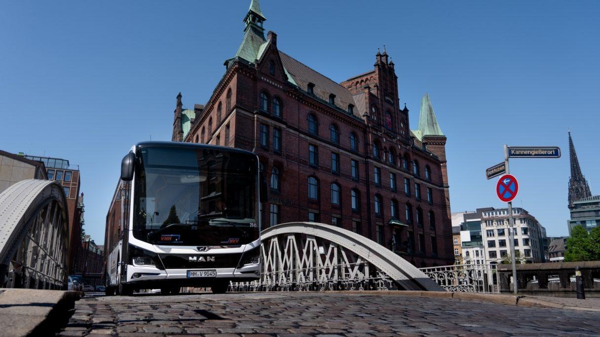 Dalších 20 elektrobusů MAN pro Hamburk
