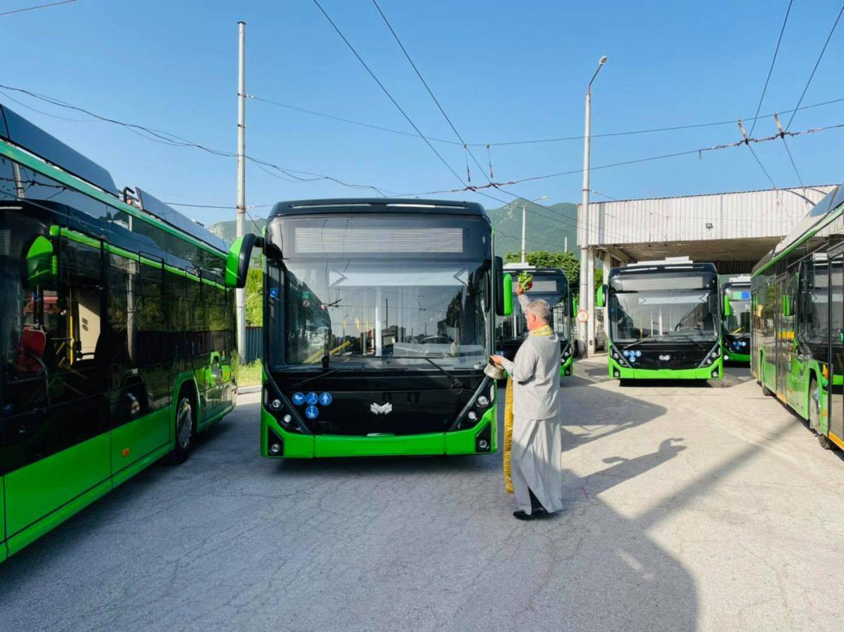 Vraca získala 9 nových trolejbusů