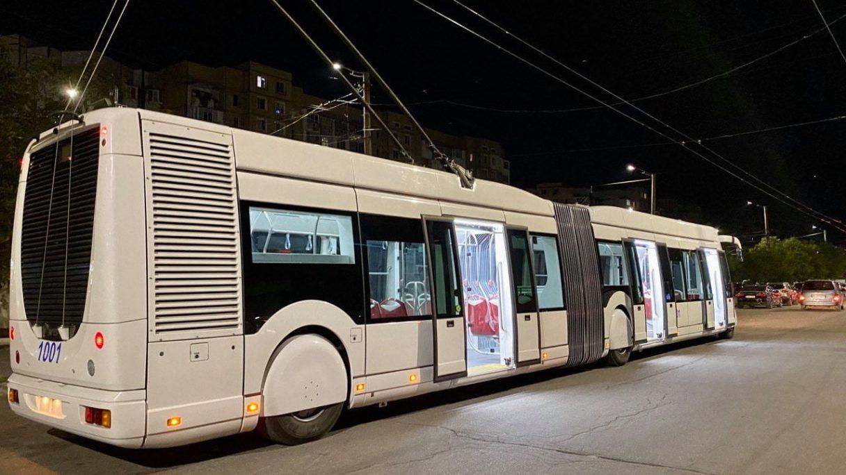 Kišiněv zahájil zkoušky trolejbusu Phileas