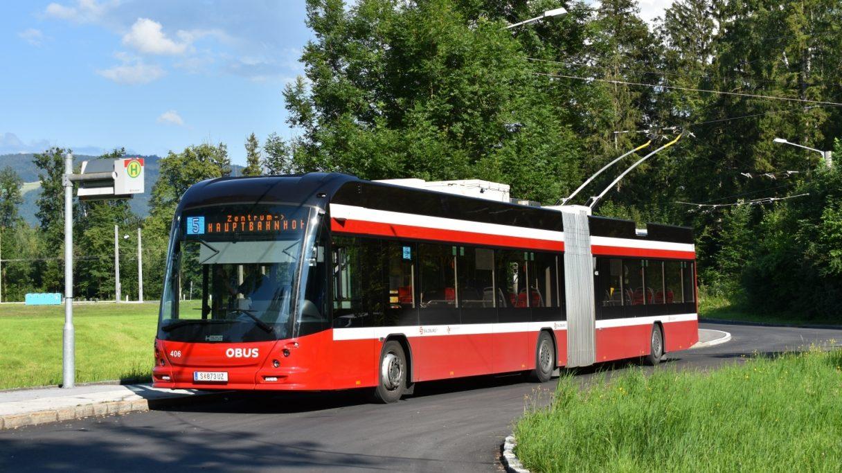 Do Salzburgu dorazily další trolejbusy HESS