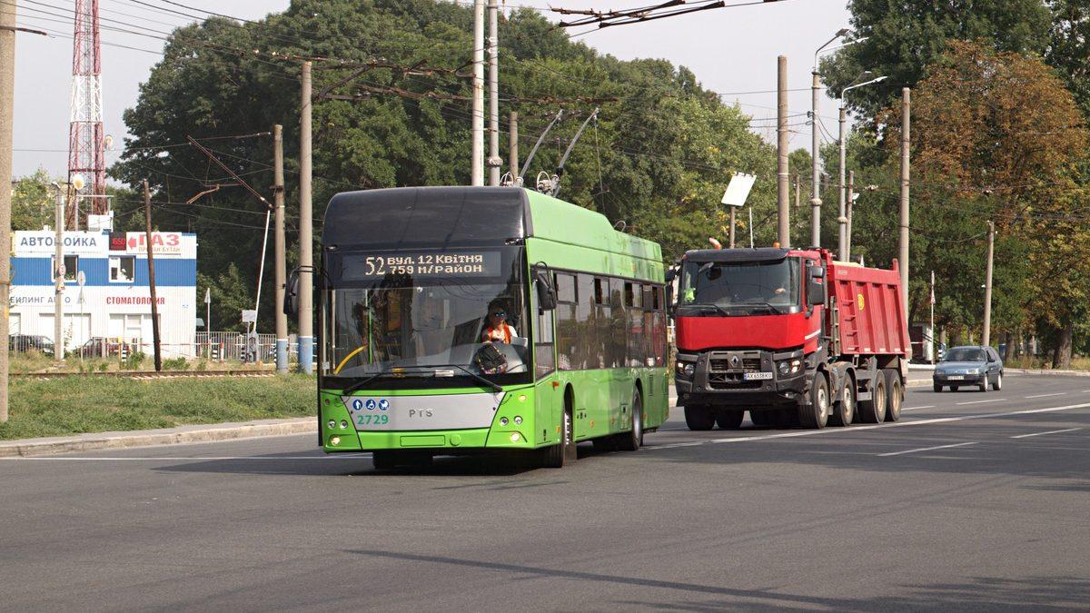 Charkov rychle rozšiřuje působiště parciálních trolejbusů