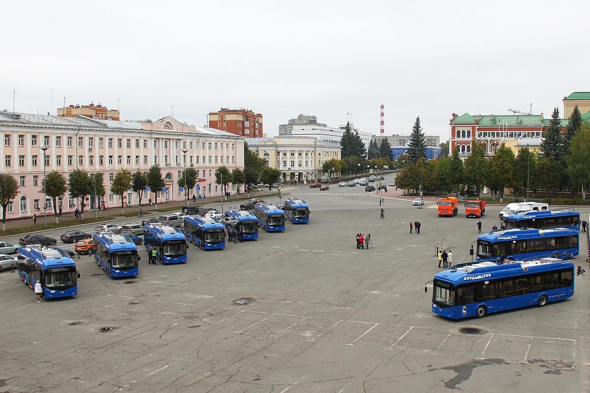 Dodávka 10 trolejbusů pro Joškar-Olu završena