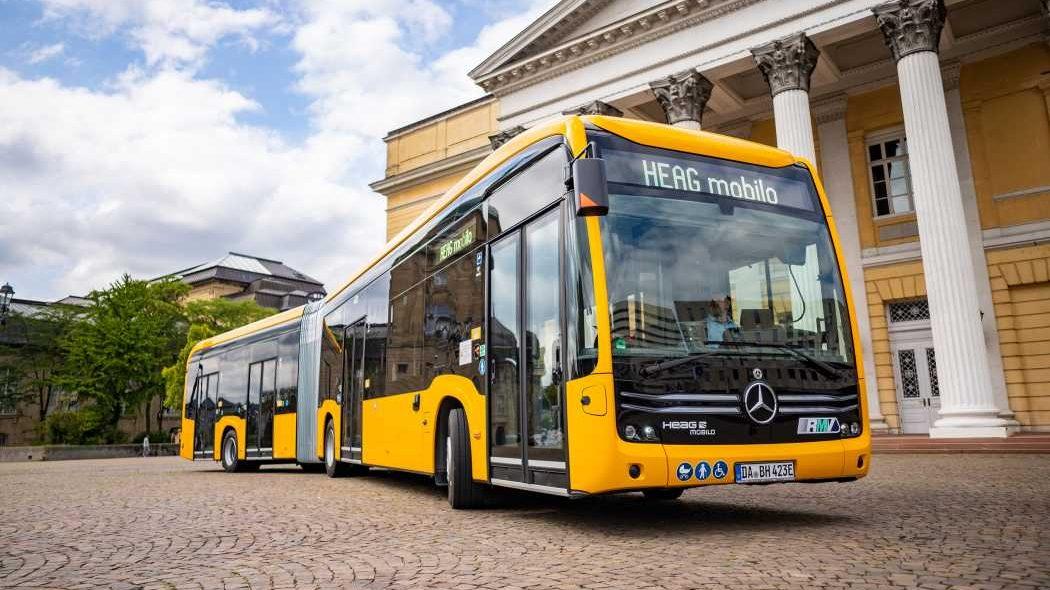 Darmstadt zařadil 24 elektrobusů eCitaro
