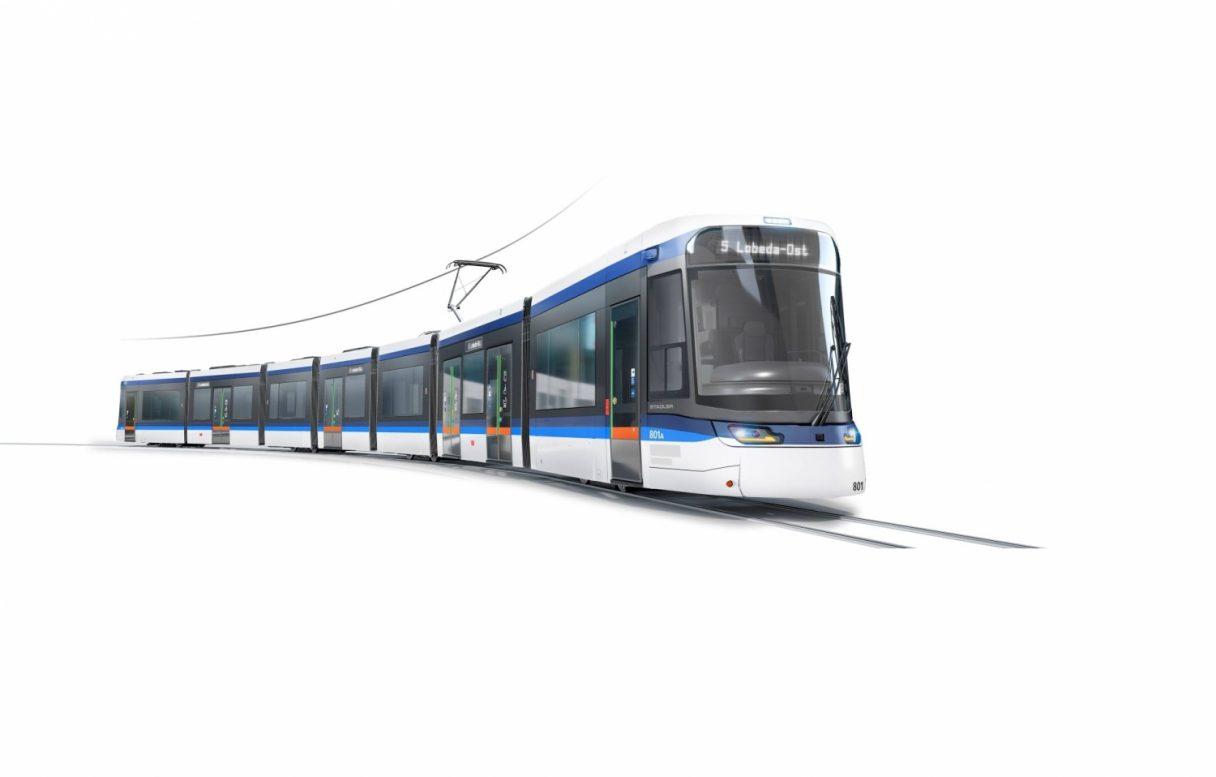 Jena představila design tramvají od Stadleru