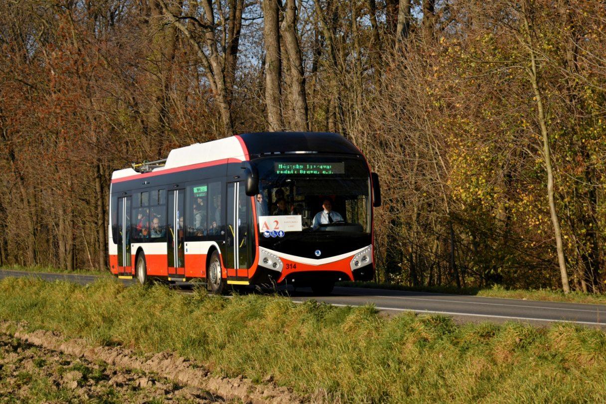 Opava poptává tři nové trolejbusy