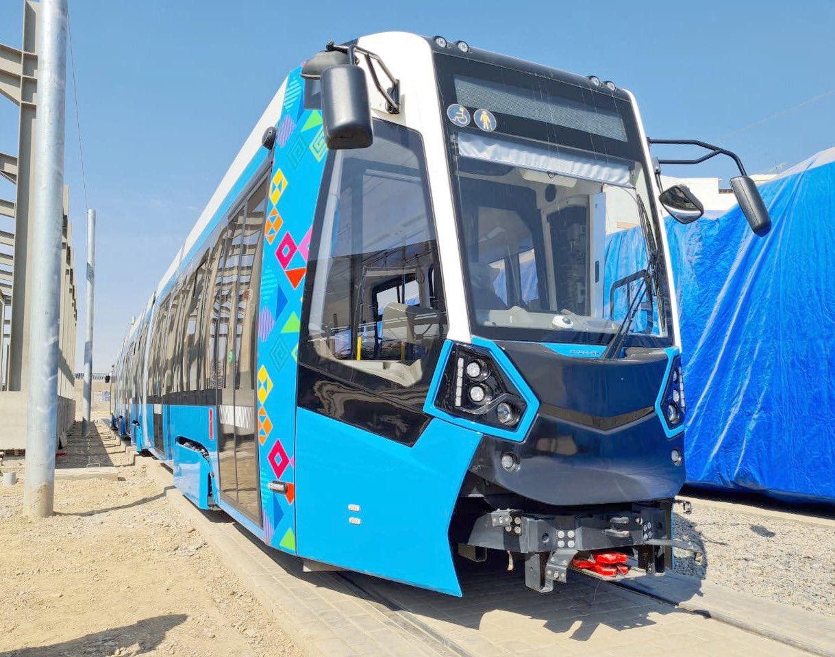 Nová tramvaj. (foto: Mi Tren Cochabamba)