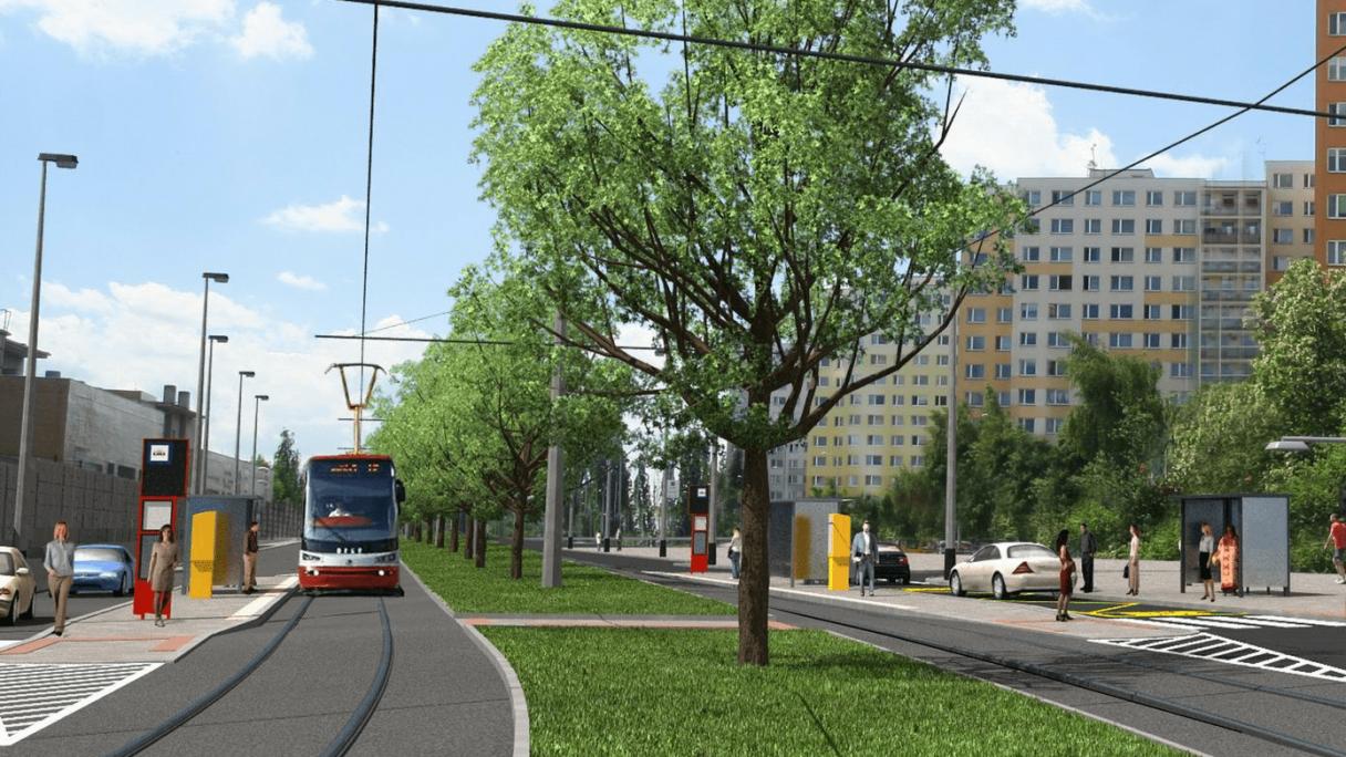 Praha postaví další tramvajovou trať